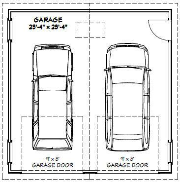 size of a two car garage double garage dimensions quotes what the standard door