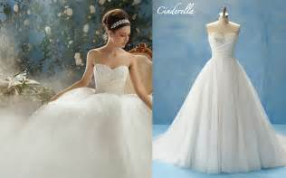 Disney collection wedding dresses cinderella overlay wedding dresses