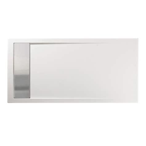 piatto doccia 180 x 80 piatto doccia 180x80 cm con canalina in acciaio materiale