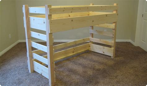 child loft bed kids toddler loft beds fits a crib size mattress on top or ikea vinka