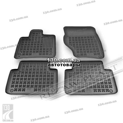Audi Q7 Rubber Floor Mats by Rezaw Plast 200307 Rubber Floor Mats For Audi Q7