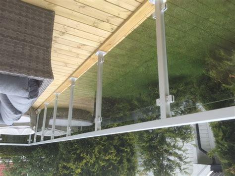Handlauf Terrasse by Terrassengel 228 Nder Mit Glas Komplette Baus 228 Tze