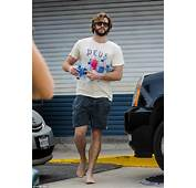 Liam Hemsworth Spotted At Petrol Station Stocking Up On