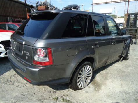 wrecked range rovers for sale sell used 2010 land rover range rover sport hse suv