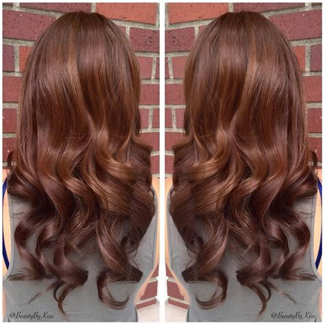 warm chestnut brown hair color for my beautiful the