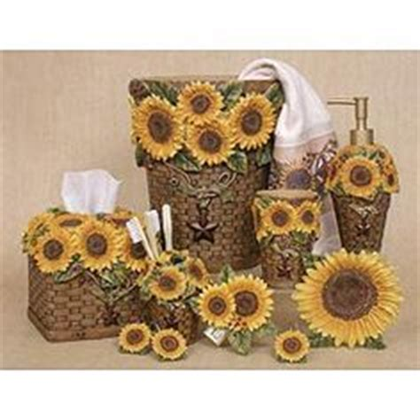 sunflower bathroom accessories 1000 images about sunflower bathroom on pinterest