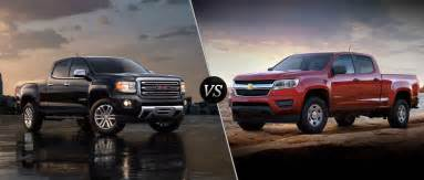 2016 gmc vs 2016 chevy colorado