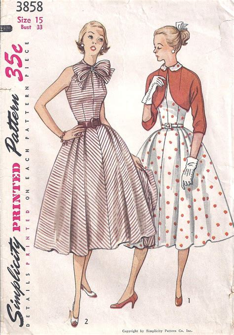 pattern for vintage dress dress patterns for women dress and jacket pattern