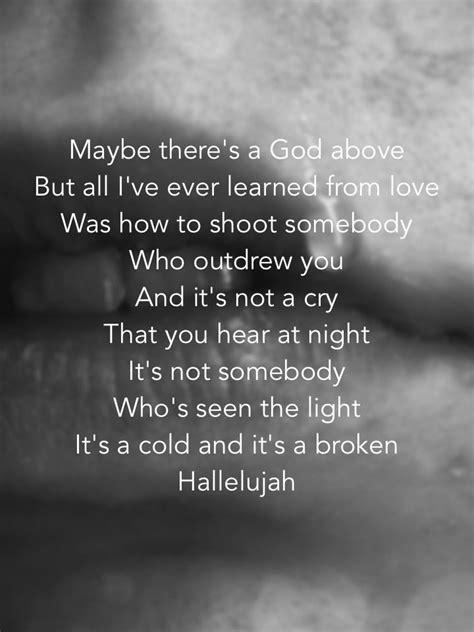 Hallelujah | Lyrical Artistry | Pinterest | Beautiful ... Leonard Cohen Hallelujah Song