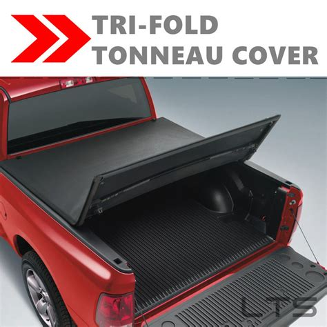 bed cover for ford f150 lock tri fold tonneau cover for 1997 2003 ford f 150 6 5ft