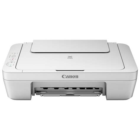 Printer Mg2570 canon pixma mg2570 multifunction inkjet printer white