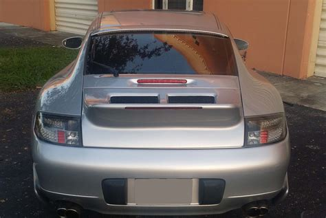 old porsche spoiler 1998 2004 porsche 911 996 coupe classic duck tail style
