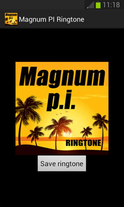 theme song magnum pi magnum pi ringtone android apps on google play