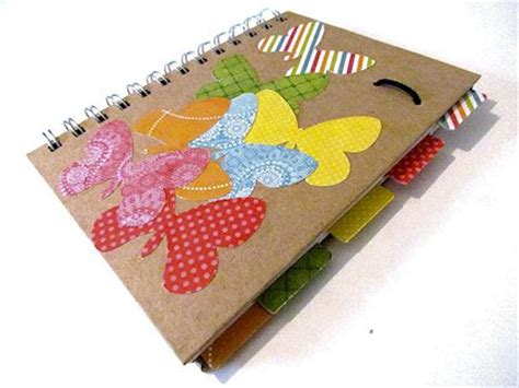 Decorate Notebook 18 ways to decorate your notebooks about family crafts