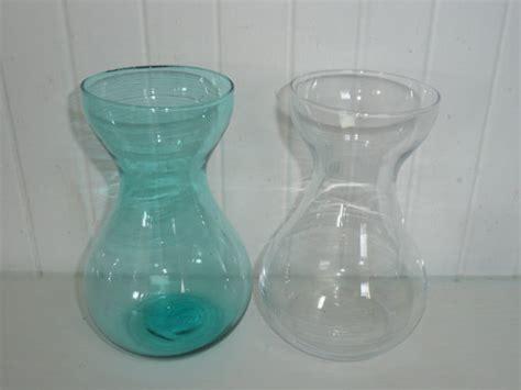 Bulb Forcing Vases vintage flower bulb forcing vases turquoise by