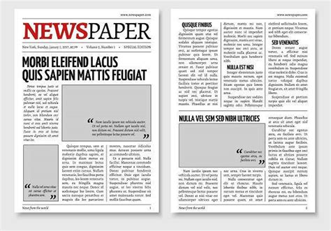 newspaper layout in html newspaper design templates design trends premium psd