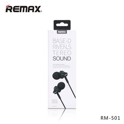 Remax Earphone With Microphone Rm 501 remax official store headphone rm 501