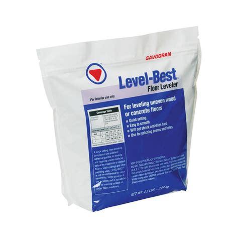 savogran 12832 4 5 lbs level best floor leveler 6562