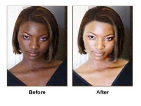 permanent skin lightening skin whitening or bleaching