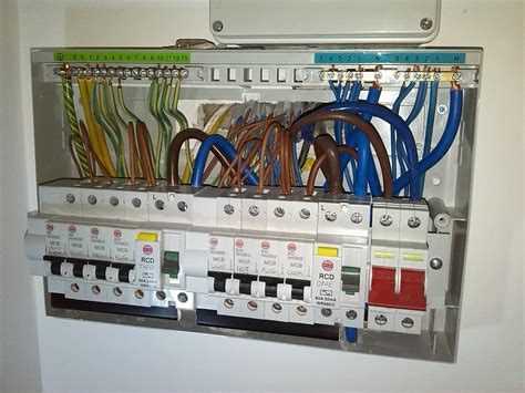 mini rcbo s or whole new consumer unit diynot forums