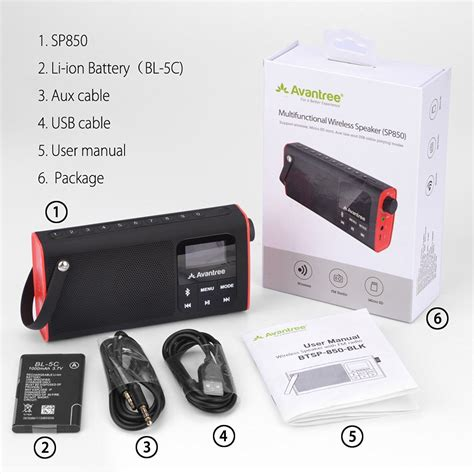 Speaker Kubus Portable Bluetooth With Micro Sd Card Sl T0210 avantree bluetooth speaker fm radio micro sd card player