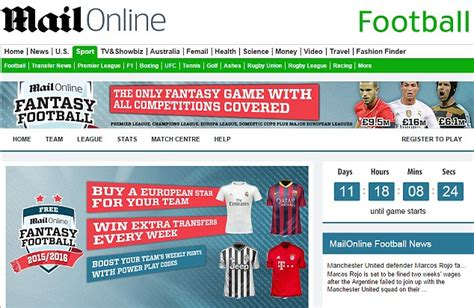 Mailonline Home by Mailonline S 163 30 000 Football Is Back Daily Mail