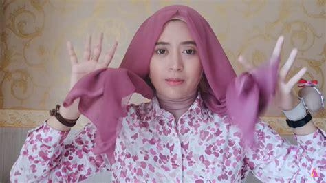 tutorial jilbab segi empat ala natasha farani tutorial hijab paris segi empat mudah dan cantik