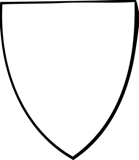 free coloring pages of medieval shields