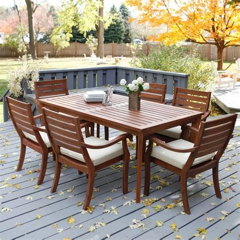 snazzy wood patio furniture optimum stuff for your flat