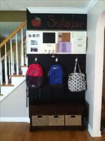 ideas for hanging backpacks entryway backpacks organization chalkboard paint back
