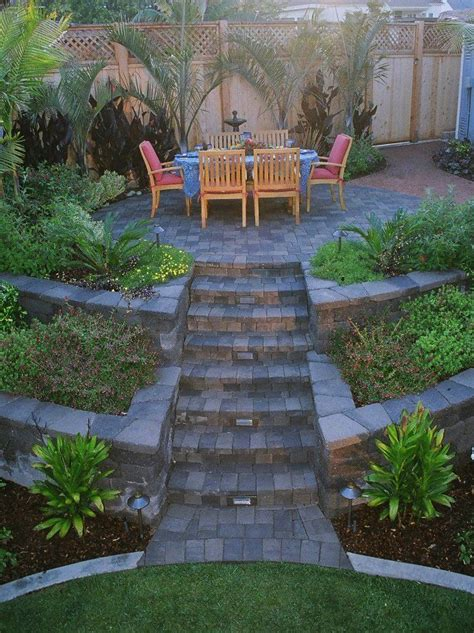 Tiered Garden Ideas Tiered Yard Patio Exactly How I Want To Quot Manage Quot Our Yard To Woods Scenario My Yard And