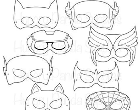 marvel black cat mask template mask etsy