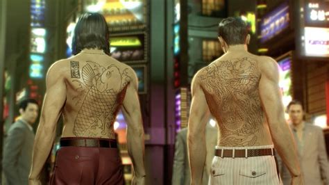 yakuza nishiki tattoo 61 my back yakuza 0 english translation youtube