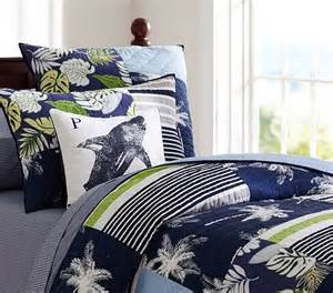 surf bedding surf patch quilted bedding pottery barn