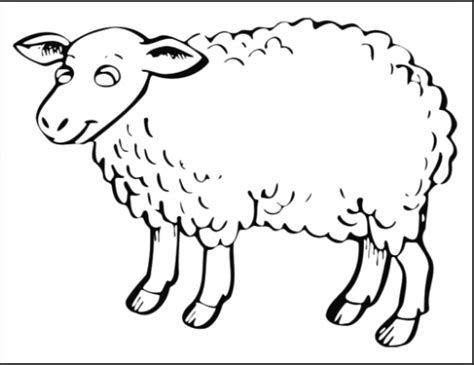 lamb coloring pages preschool sheep coloring pages for preschool free printable coloring