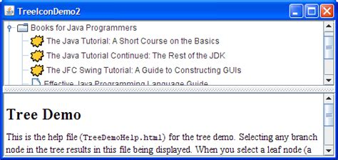 jtree exle in java swing how to use trees the java tutorials gt creating a gui