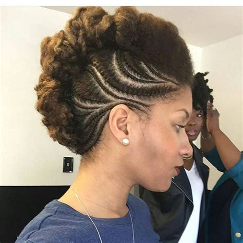 funky natural hair styles 405 best cornrow hairstyles for black women images on