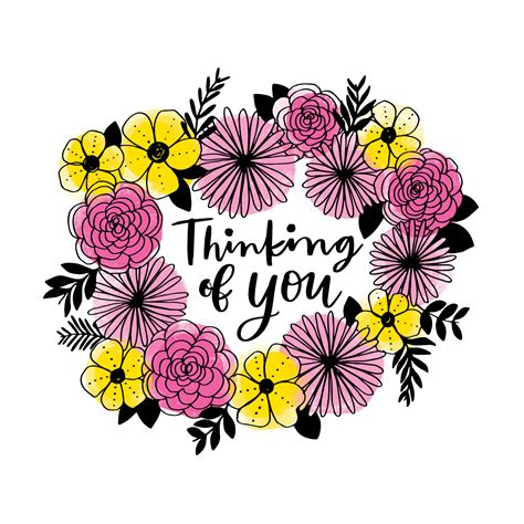 thinking   floral wreath   vectors