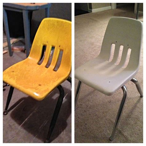 Paint Plastic Chairs - 25 best ideas about painting plastic chairs on