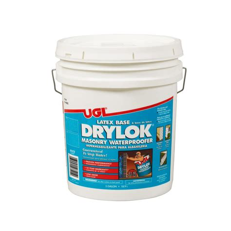 behr basement and masonry waterproofing paint behr premium 5 gal basement and masonry interior exterior