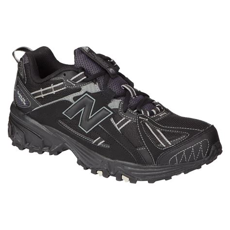 new balance 411 trail running shoe new balance s 411 trail running athletic shoe black