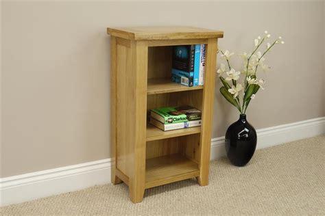 Small Storage Shelving Units Chelsea Oak Small Narrow Bookcase Shelving Storage Unit