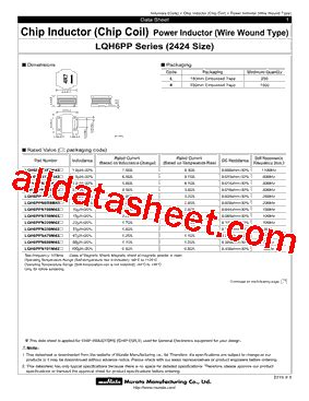 murata inductor pdf murata inductors datasheet 28 images lqh6pp datasheet pdf murata manufacturing co ltd