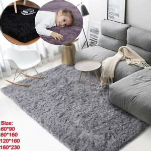 large fluffy rugs anti skid shaggy area rug dining room