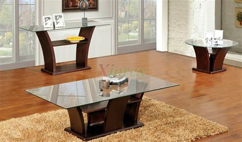 livingroom table sets columba 3 coffee table set with sofa console table
