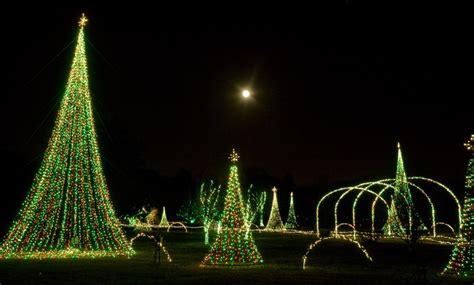 Norfolk Botanical Garden Lights Photograph The Moon At Norfolk Botanical Garden Of Lights