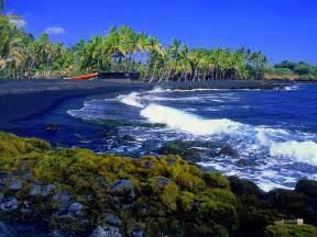 black sand big island big island hawaii united states of america world for