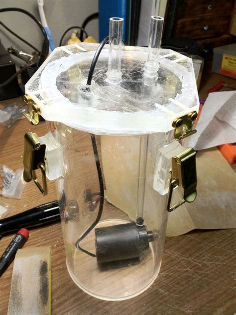 membuat filter canister aquarium diy canister filter aquarium pinterest canisters and