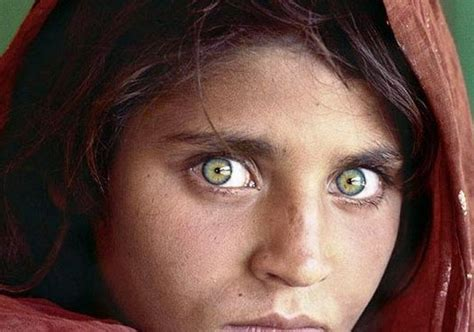 image gallery ojos bonitos con caras 9 curiosidades sobre la foto de la ni 241 a afgana