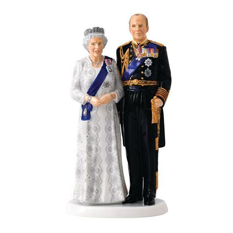 Royal Doulton Commemoratives Queen and Prince Philip 70th
